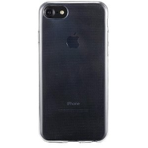 Holdit iPhone SE (2020) / 8 / 7 / 6s / 6 Soft Touch Cover - Gennemsigtigt