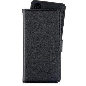 Huawei P30 Holdit Wallet Case Magnet - Læder Cover m. Aftageligt Cover - Sort