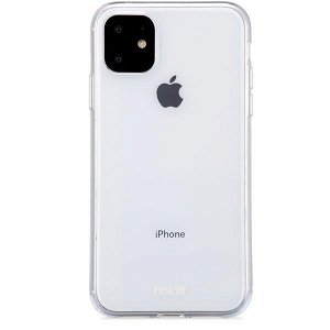 Holdit iPhone 11 Soft Touch PU Cover - Gennemsigtigt