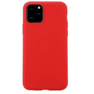 Holdit iPhone 11 Pro Soft Touch Silikone Case - Rød