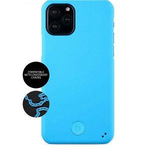 Holdit Connect - iPhone 11 Pro Paris Fluorescent Blue - Soft Touch Cover