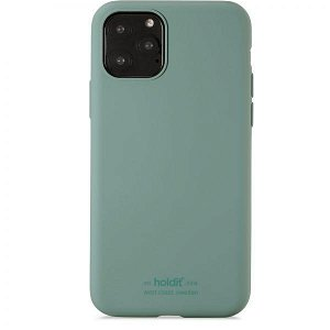 Holdit iPhone 11 Pro Soft Touch Silikone Case - Moss Green