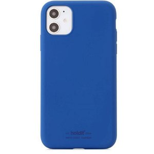 Holdit iPhone 11 Soft Touch Silikone Case - Royal Blue