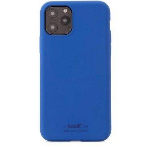 Holdit iPhone 11 Pro Soft Touch Silikone Case - Royal Blue