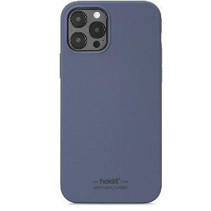 Holdit iPhone 12 / 12 Pro Soft Touch Silikone Case - Pacific Blå