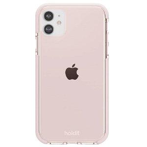 Holdit iPhone 11 Seethru Bagside Cover - Blush Pink