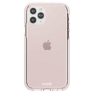 Holdit iPhone 11 Pro Seethru Bagside Cover - Blush Pink