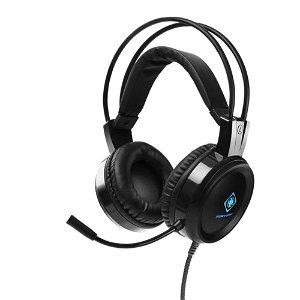 Deltaco Gaming Headset DH110 Til Computer / Xbox / Playstation - Sort