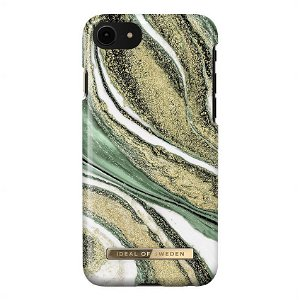 iDeal Of Sweden iPhone SE (2020)/8/7/6/6s Fashion Case Cosmic Green Swirl