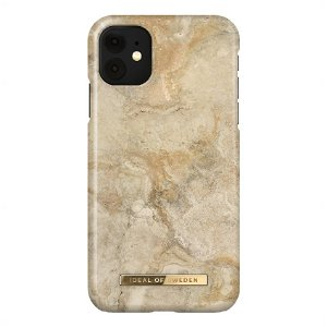 iDeal Of Sweden iPhone 11 Fashion Case Sandstorm Marble