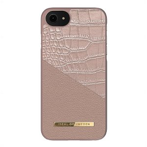 iDeal Of Sweden iPhone SE (2020)/8/7/6/6s Fashion Case Atelier Rose Smoke Croco