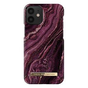 iDeal Of Sweden iPhone 12 Mini Fashion Case - Golden Plum
