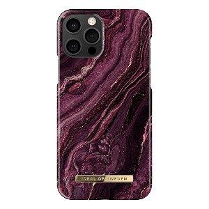 iDeal Of Sweden iPhone 12 Pro / 12 Fashion Case - Golden Plum