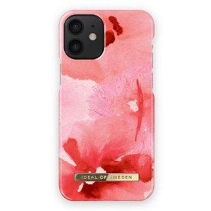 iDeal Of Sweden iPhone 12 Mini Fashion Bagside Case Coral Blush Floral