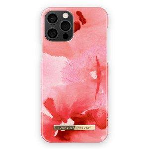 iDeal Of Sweden iPhone 12 / 12 Pro Fashion Bagside Case Coral Blush Floral