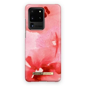 iDeal Of Sweden Samsung Galaxy S20 Ultra Fashion Bagside Case Coral Blush Floral