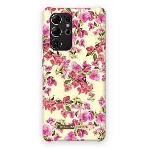 iDeal Of Sweden Samsung Galaxy S21 Ultra Fashion Bagside Case Lemon Bloom