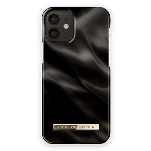 iDeal Of Sweden iPhone 12 Mini Fashion Bagside Case Black Satin