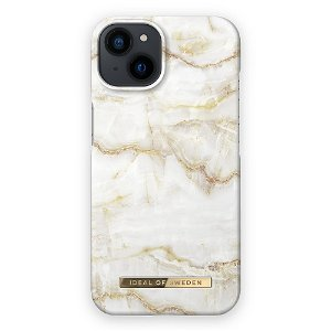 Ideal Of Sweden iPhone 13 Fashion Cover Golden Pearl Marble