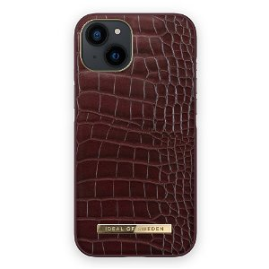 Ideal Of Sweden iPhone 13 Mini Fashion Cover Atelier - Scarlet Croco