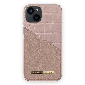 Ideal Of Sweden iPhone 13 Mini Fashion Case Atelier - Rose Smoke Croco