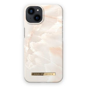 Ideal Of Sweden iPhone 13 Mini Fashion Cover Rose Pearl Marble