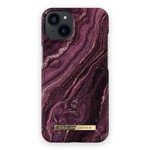 Ideal Of Sweden iPhone 13 Fashion Case Golden Plum