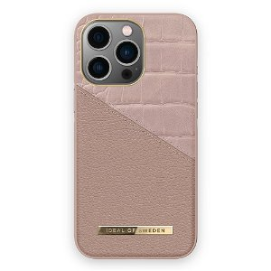 Ideal Of Sweden iPhone 13 Pro Fashion Cover Atelier - Rose Smoke Croco