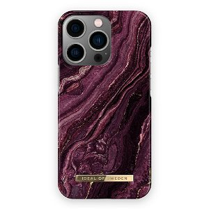 Ideal Of Sweden iPhone 13 Pro Max Fashion Case Golden Plum