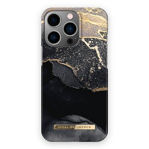 Ideal Of Sweden iPhone 13 Pro Max Fashion Cover Golden Twilight Marble