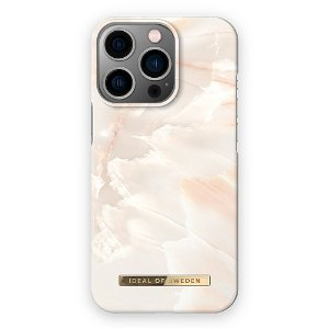 Ideal Of Sweden iPhone 13 Pro Max Fashion Case Rose Pearl Marble