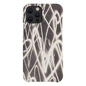 A Good Company iPhone 12 / 12 Pro 100% Plantebaseret Cover - Grafitti