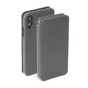 Krusell Pixbo 4 Card FolioCase iPhone Xr Læder Flip Cover - Grå