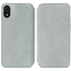 Krusell Broby Slim Wallet iPhone Xr Ruskind Flip Cover - Grå