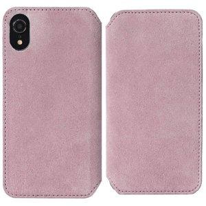 Krusell Broby Slim Wallet iPhone Xr Ruskind Flip Cover - Pink