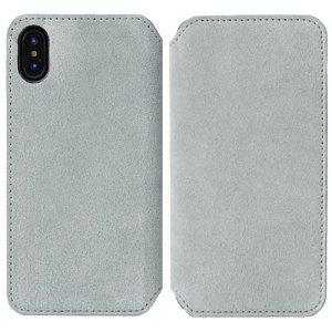 Krusell Broby Slim Wallet iPhone XS Max Ruskind Flip Cover - Grå