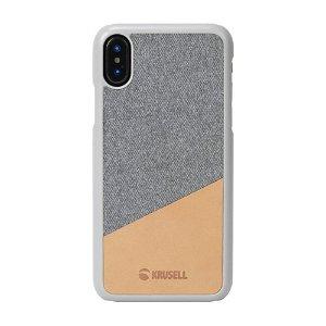 Krusell Tanum iPhone Xs Max Bagside Cover - Grå