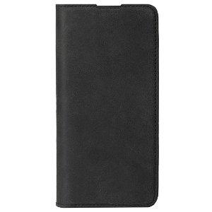 Krusell Sunne 2 Card Folio Wallet OnePlus 6T Læder Flip Cover - Sort