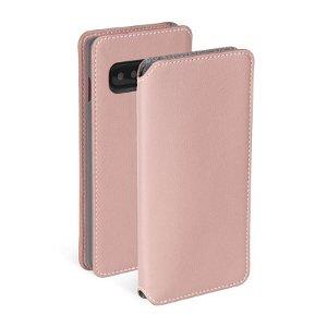Krusell Pixbo 4 Card FolioCase Samsung Galaxy S10 Læder Flip Cover - Pink