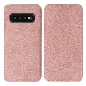Krusell Broby Slim Wallet Samsung Galaxy S10 Ruskind Flip Cover - Pink