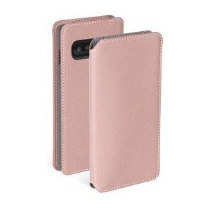 Krusell Pixbo 4 Card FolioCase Samsung Galaxy S10+ (Plus) Læder Flip Cover - Pink