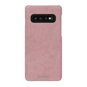 Krusell Broby Samsung Galaxy S10+ (Plus) Ruskind Cover - Pink
