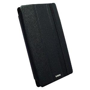 Krusell Universal Tablet Læder Cover Sort (Maks. Str. 207 x125 mm)