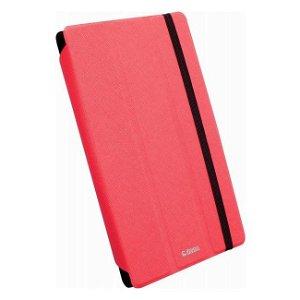 Krusell Universal Tablet Læder Cover Rød (Maks. Str. 207 x125 mm)