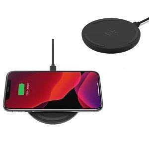 Belkin Boost Up Charge Qi Wireless Charging Pad 10W - Trådløs Oplader m. Vægoplader - Sort