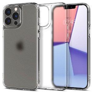Spigen iPhone 13 Pro Quartz Hybrid Cover - Mat Gennemsigtig