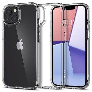 iPhone 13 Spigen Ultra Hybrid Bagside Cover - Gennemsigtig