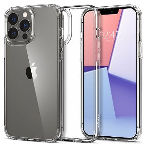iPhone 13 Pro Spigen Ultra Hybrid Bagside Cover - Gennemsigtig