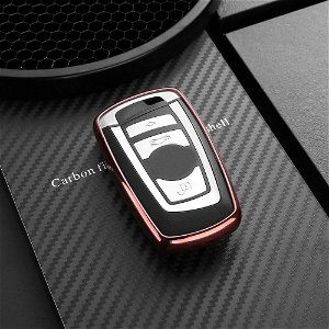 DUX DUCIS BMW Bilnøgle Cover (Nye BMW Modeller) - Rosa Guld