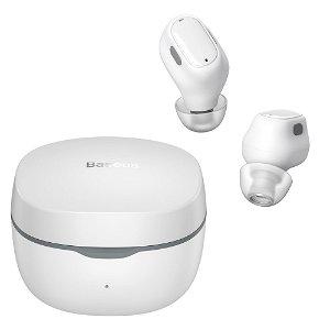 Baseus Hovedtelefoner Encok WM01 Trådløs In-ear - Hvid
